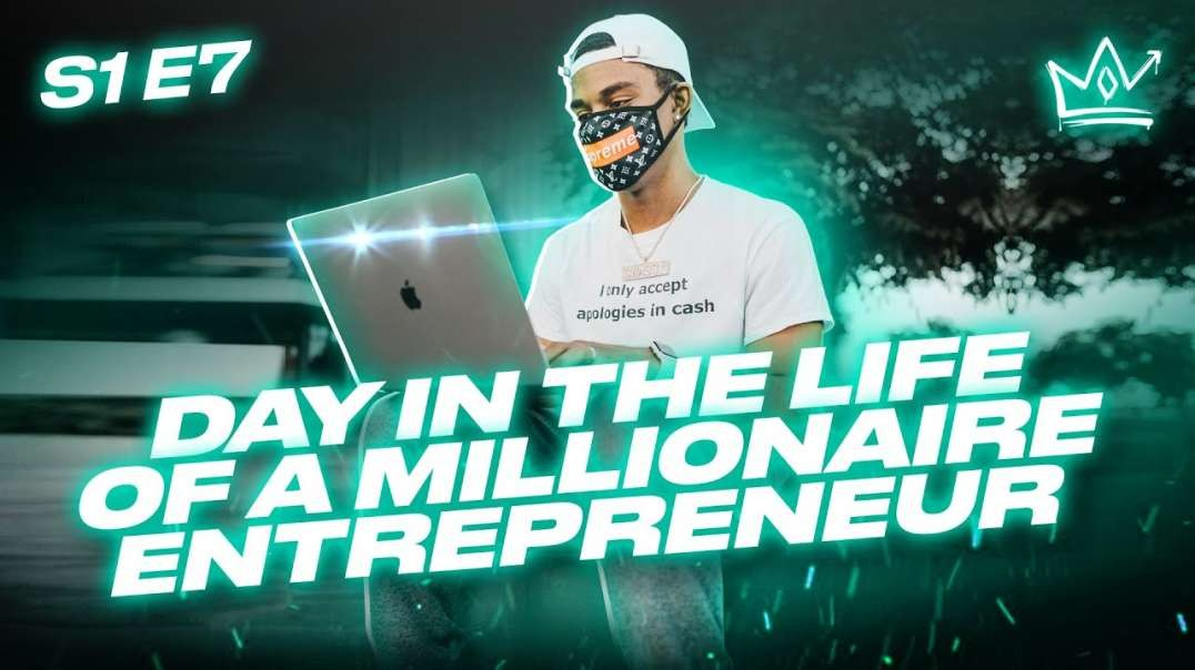 Day in the Life of a Millionaire Entrepreneur (25 Years Old)